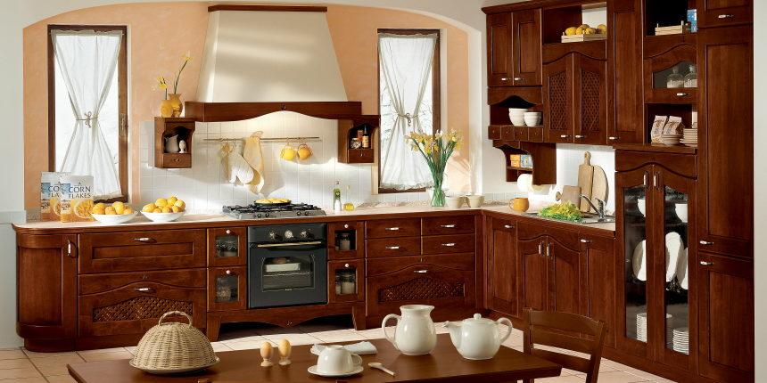 Massivholzküchen der Serie Ducale bestechen mit ihrer Frontenvielfalt und lassen jede Küche hell, warm und gemütlich erstrahlen.