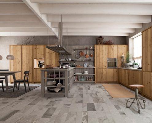 Massivholzküchen Modern - Diese Traumküche besticht durch seine Eleganz. Klare Linien und die Farbkombination machen diese Massivholzküche zu einem Highlight in Ihrem Zuhause.