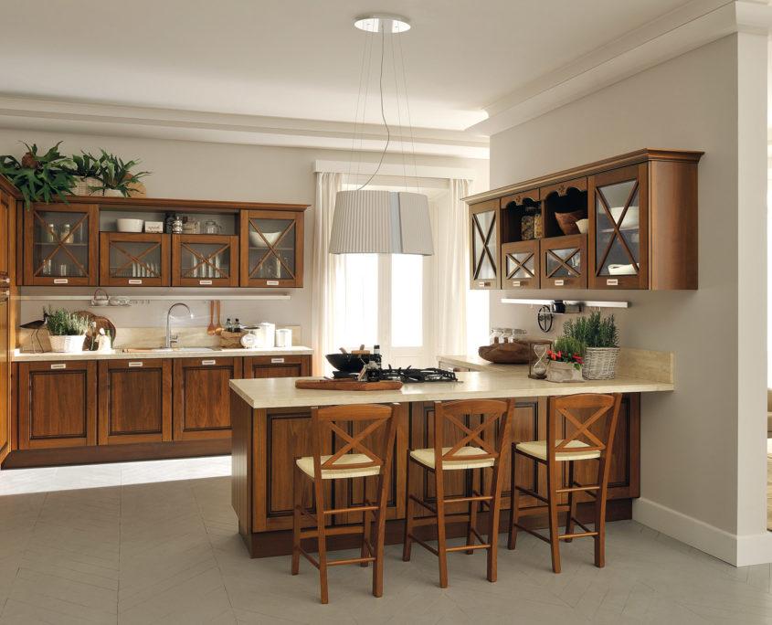 model agnese noce ph nix massivholzk chen. Black Bedroom Furniture Sets. Home Design Ideas