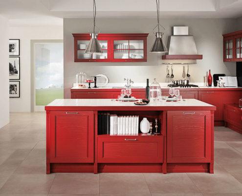 Moderne Vollholzküchen in edlem Design, italienische Hersteller ... | {Massivholzküchen hersteller 22}