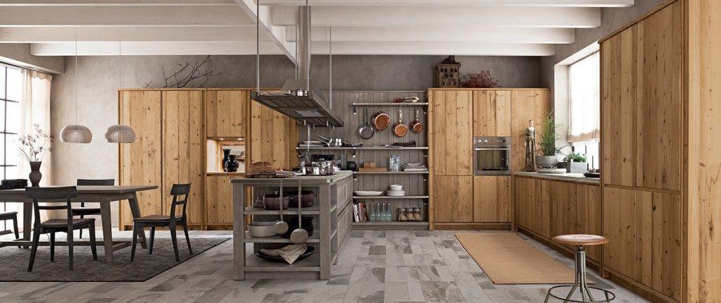 moderne massivholzk chen. Black Bedroom Furniture Sets. Home Design Ideas